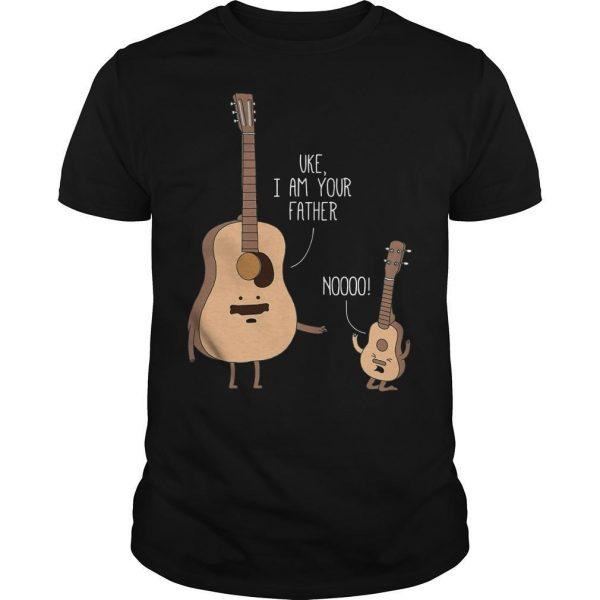 Guitar Uke I Am Your Father Noooo Shirt