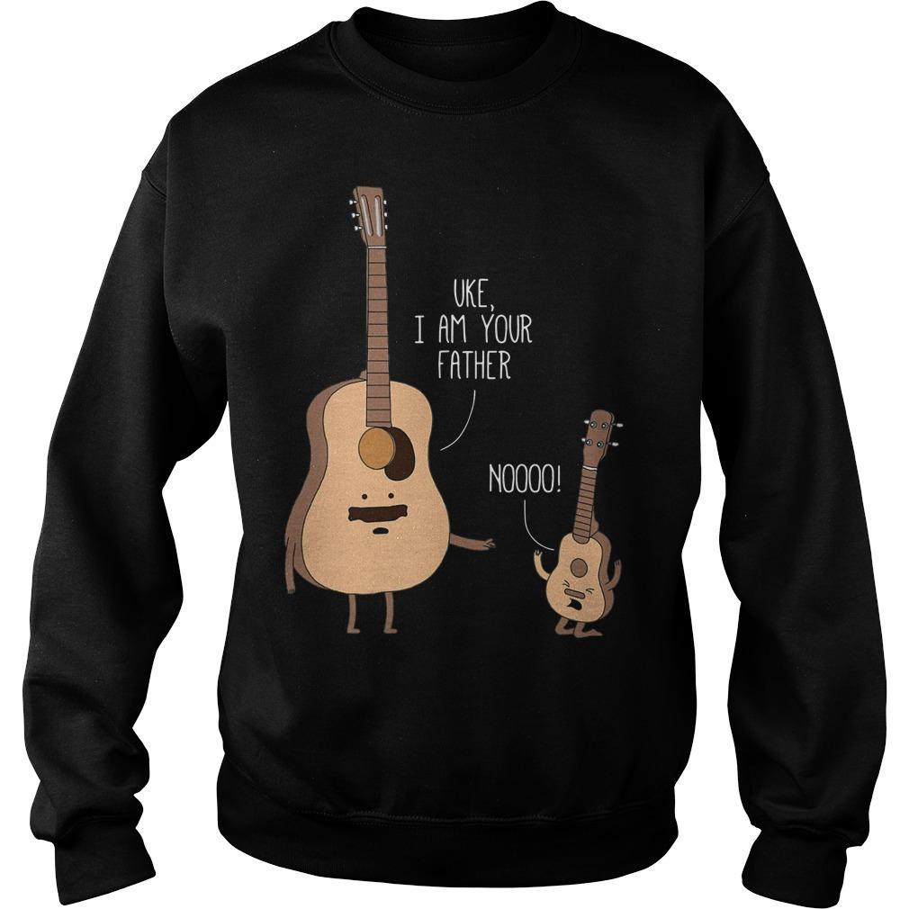 Guitar Uke I Am Your Father Noooo Sweater