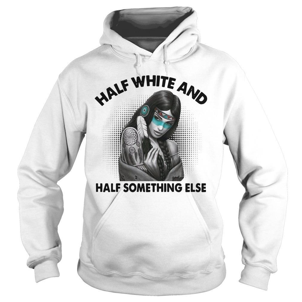 Half White And Half Something Else Hoodie