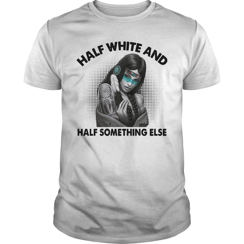 Half White And Half Something Else Longsleeve