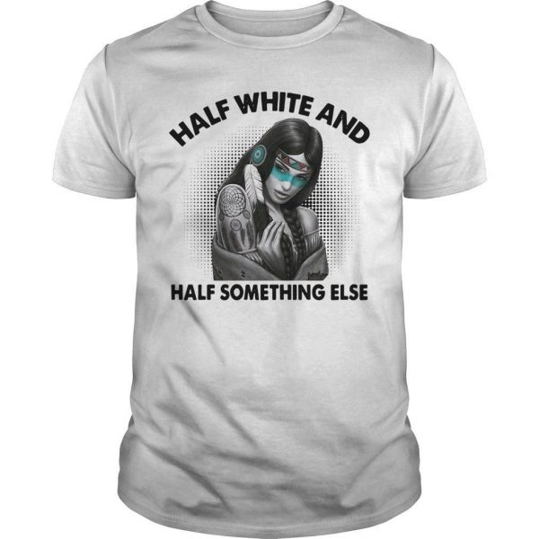 Half White And Half Something Else Shirt