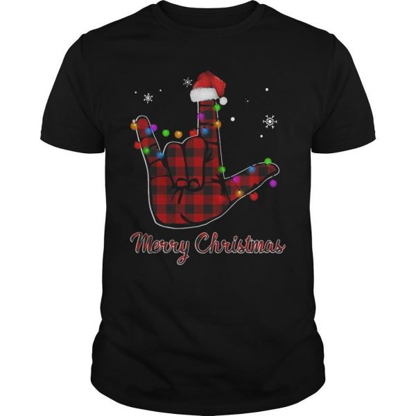 Hand Merry Christmas Shirt