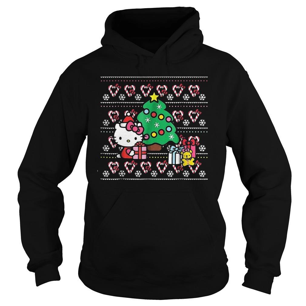 Hello Kitty Christmas Tree Hoodie