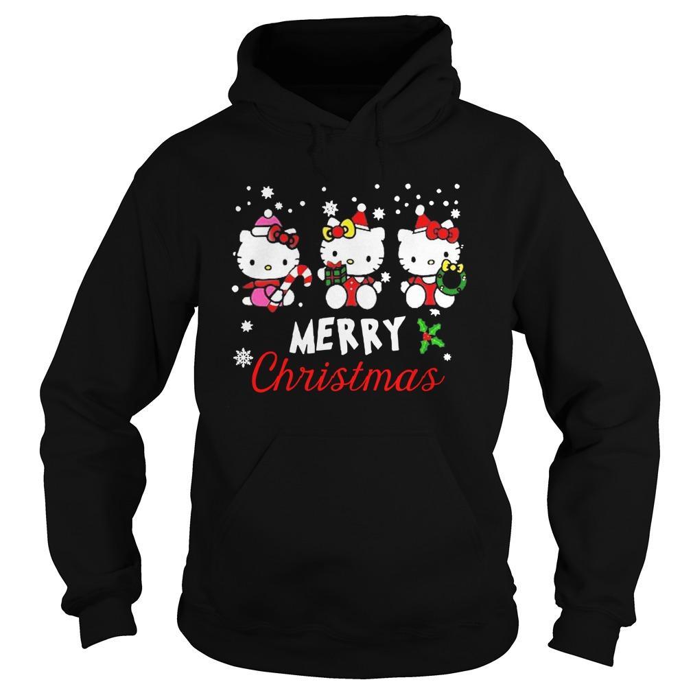 Hello Kitty Merry Christmas Hoodie