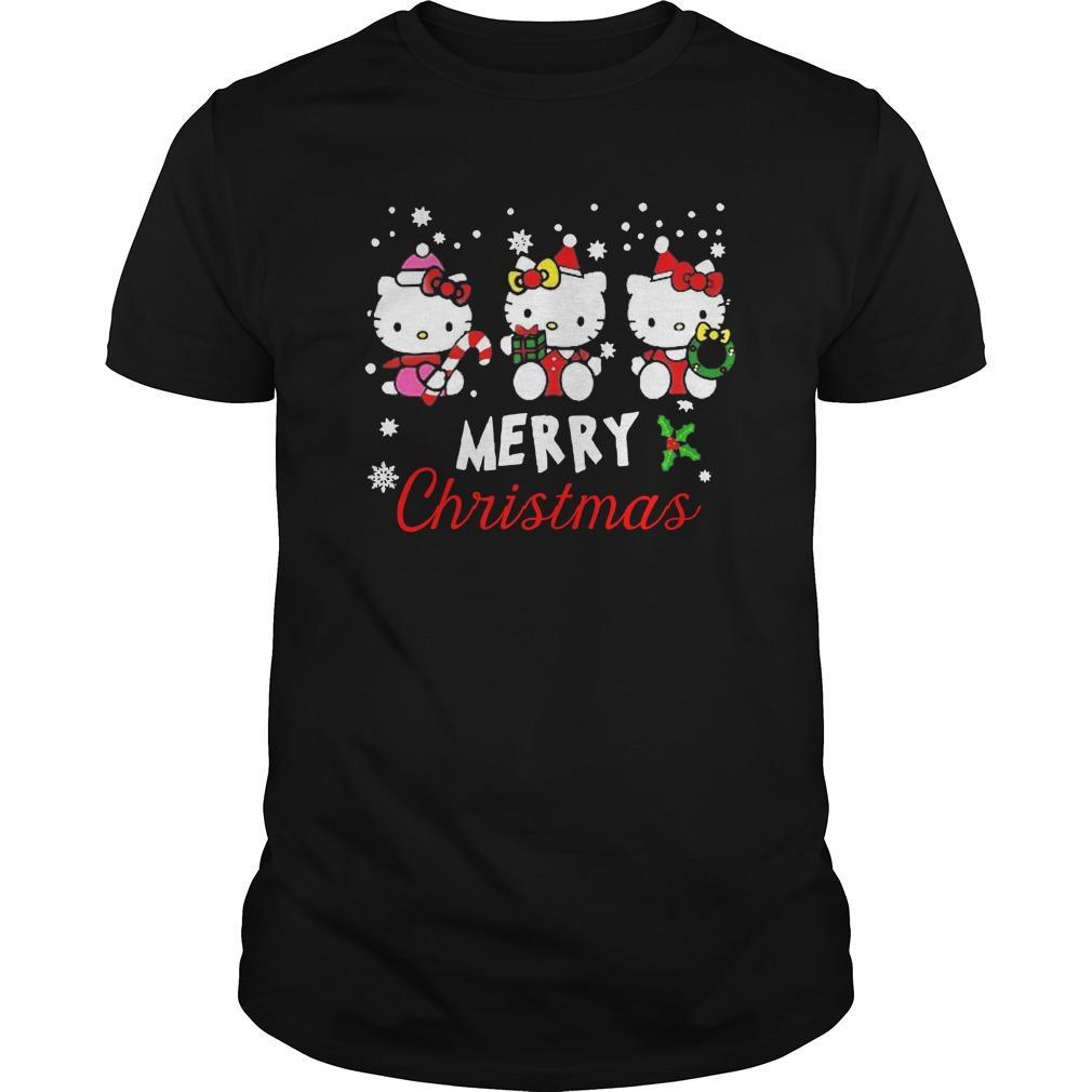 Hello Kitty Merry Christmas Longsleeve