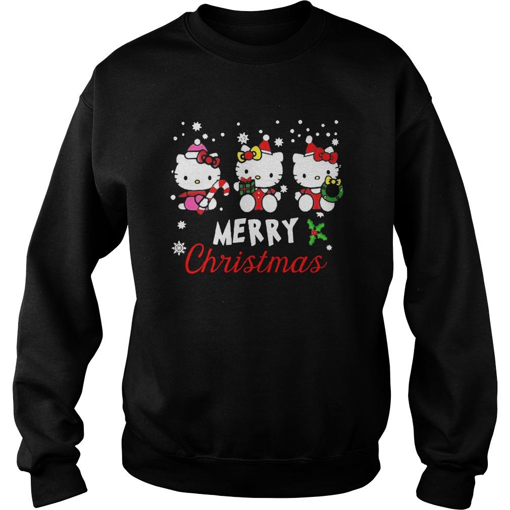 Hello Kitty Merry Christmas Sweater