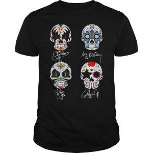 Hippie Skull K T Shirt