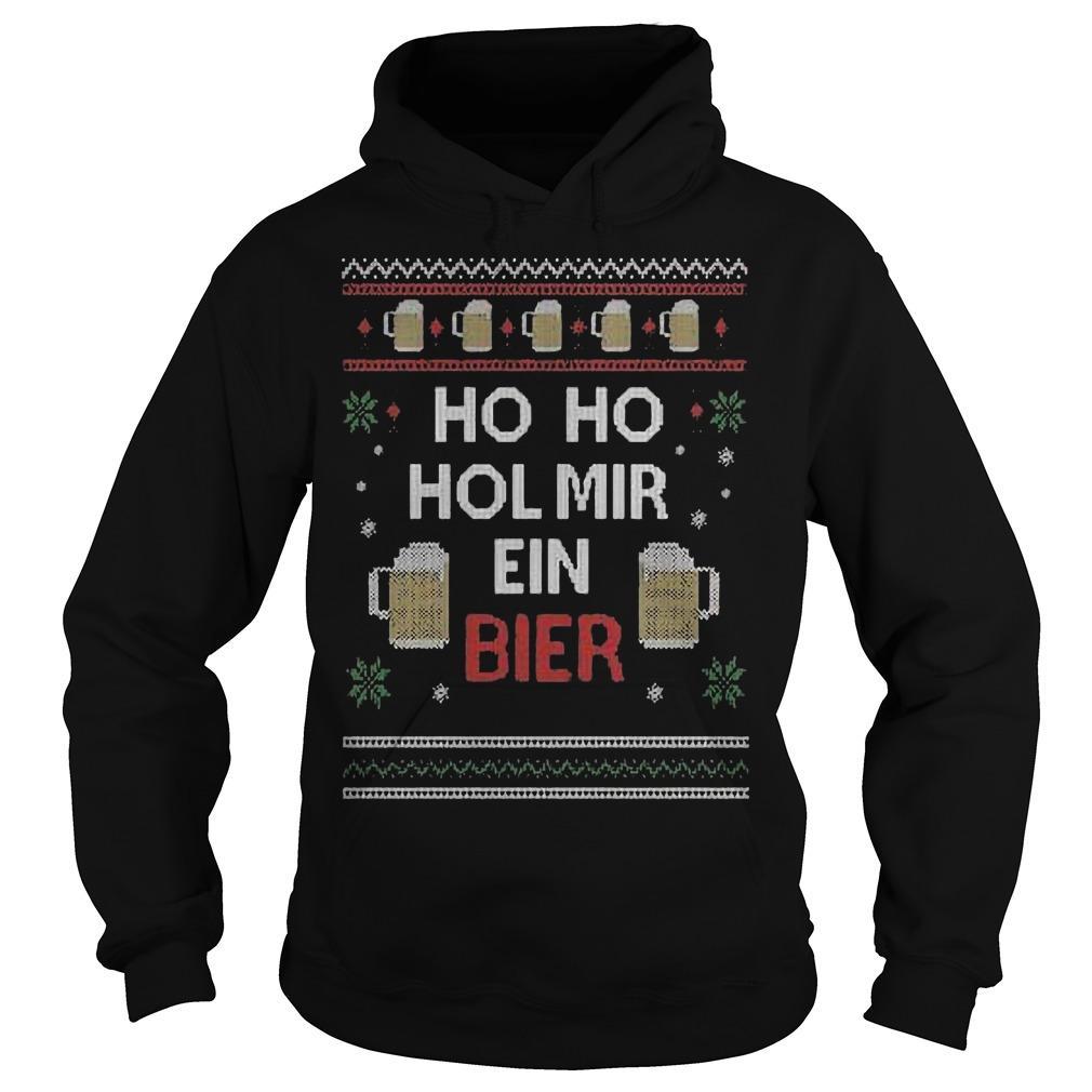 Ho Ho Hol Mir Ein Bier Hoodie