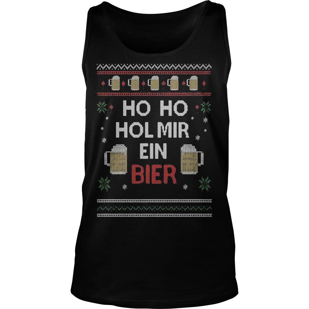 Ho Ho Hol Mir Ein Bier Tank Top
