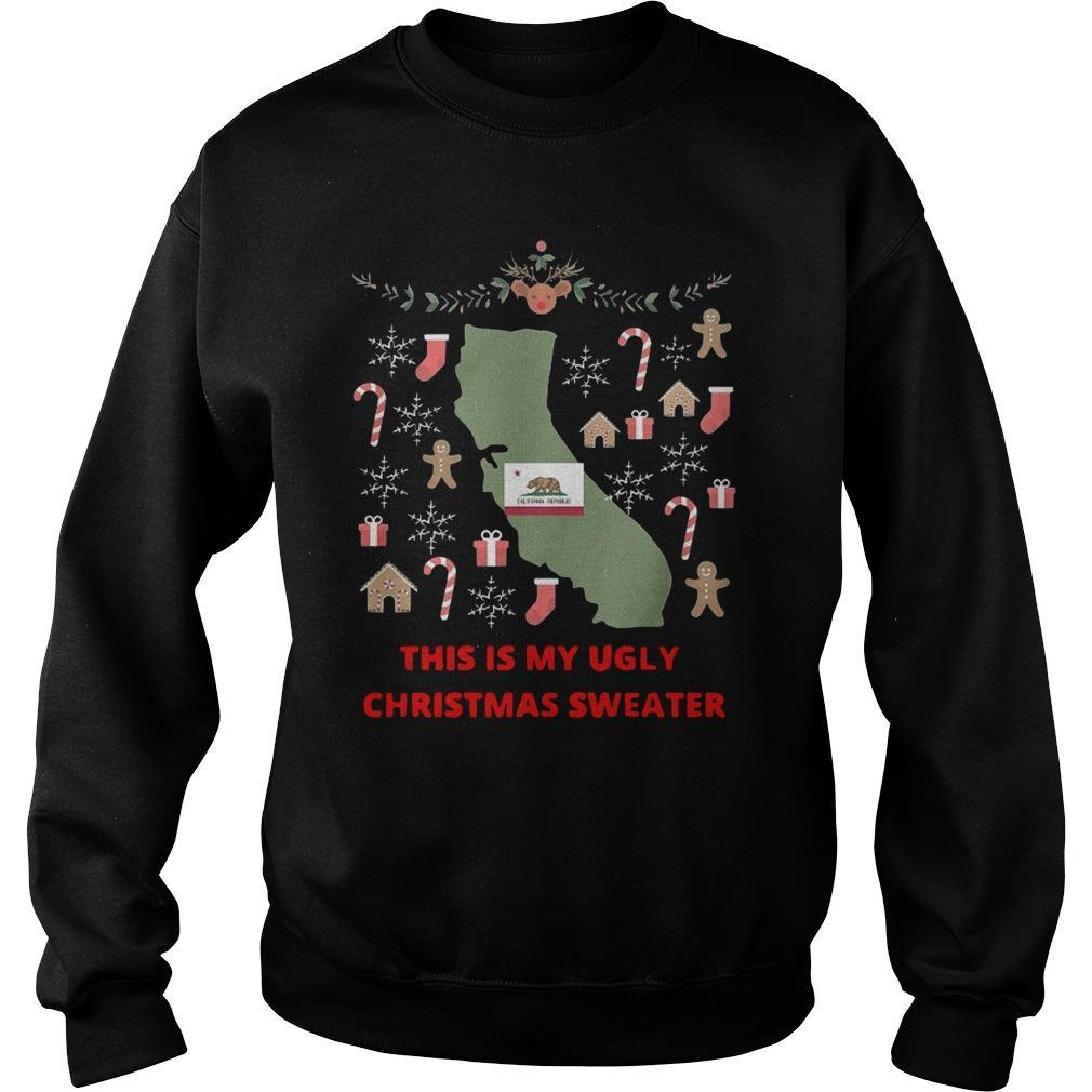 Houston Texans This Is My Ugly Christmas Sweater Sweater