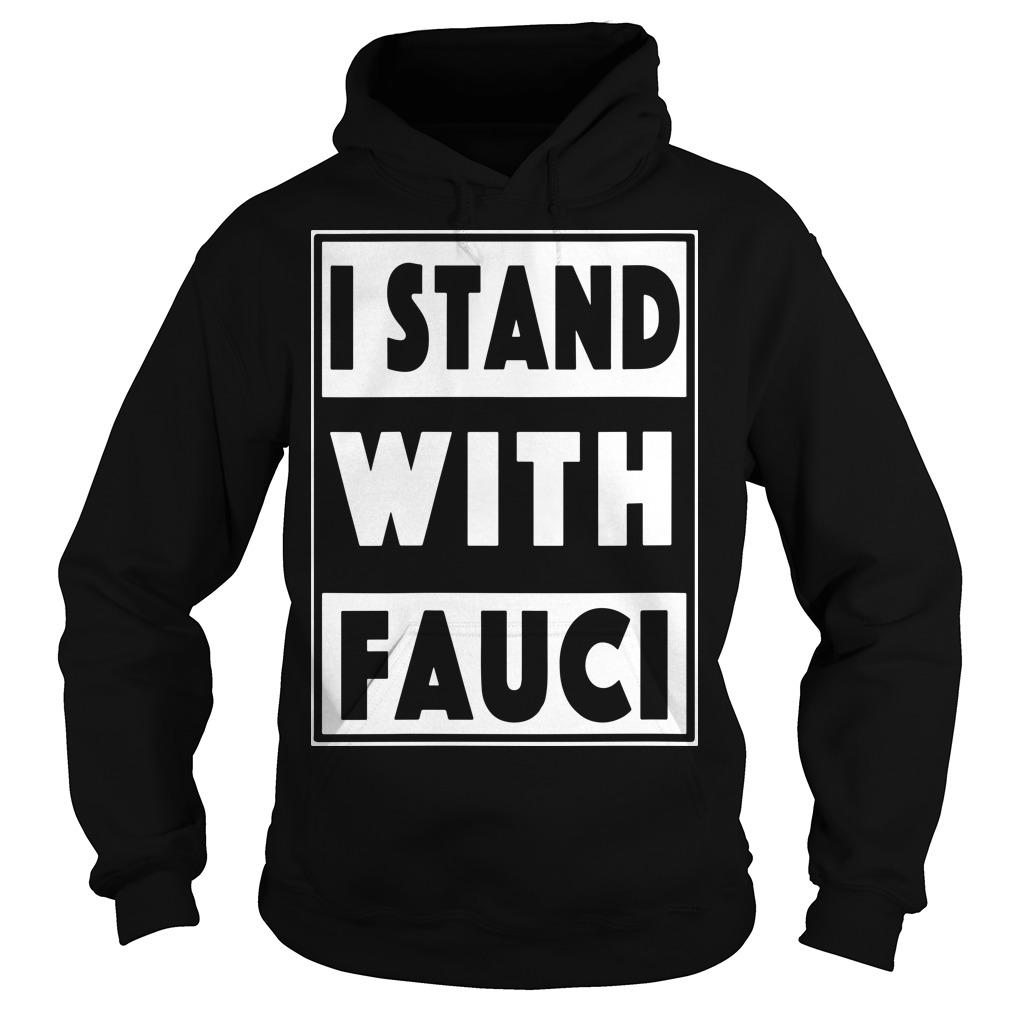 I Stand With Fauci T Amazon Hoodie