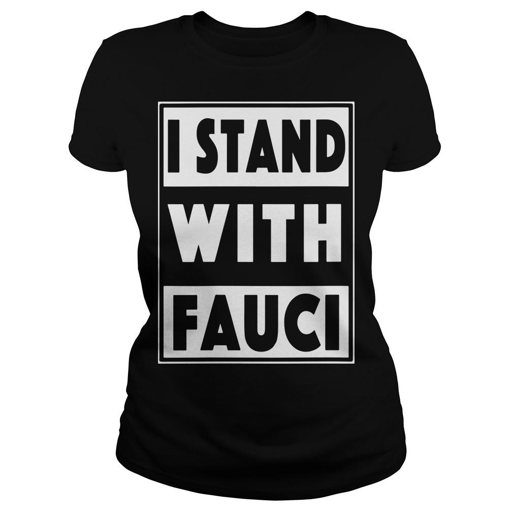 I Stand With Fauci T Amazon Longsleeve