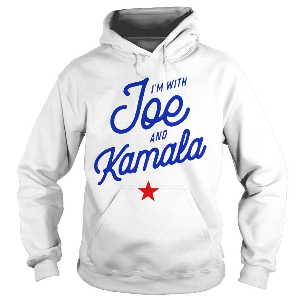I'm With Joe And Kamala Hoodie