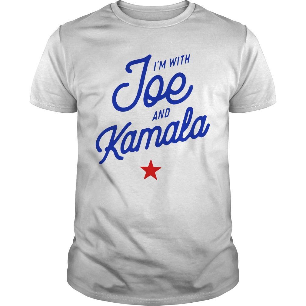 I'm With Joe And Kamala Longsleeve