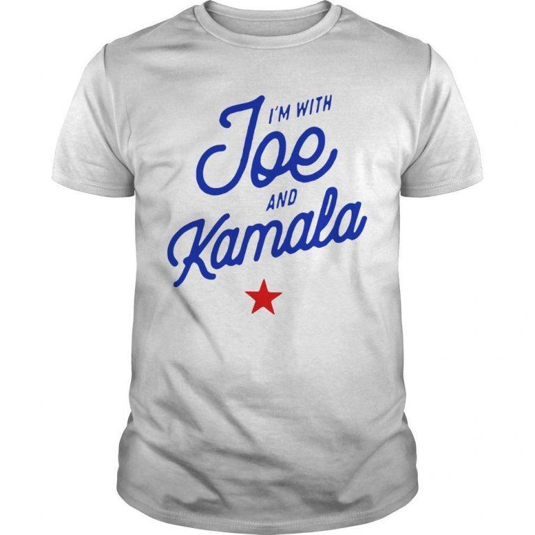 I'm With Joe And Kamala Shirt