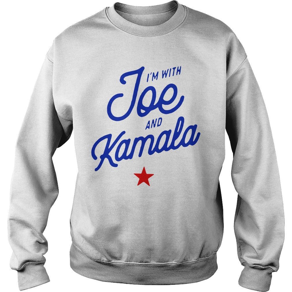 I'm With Joe And Kamala Sweater