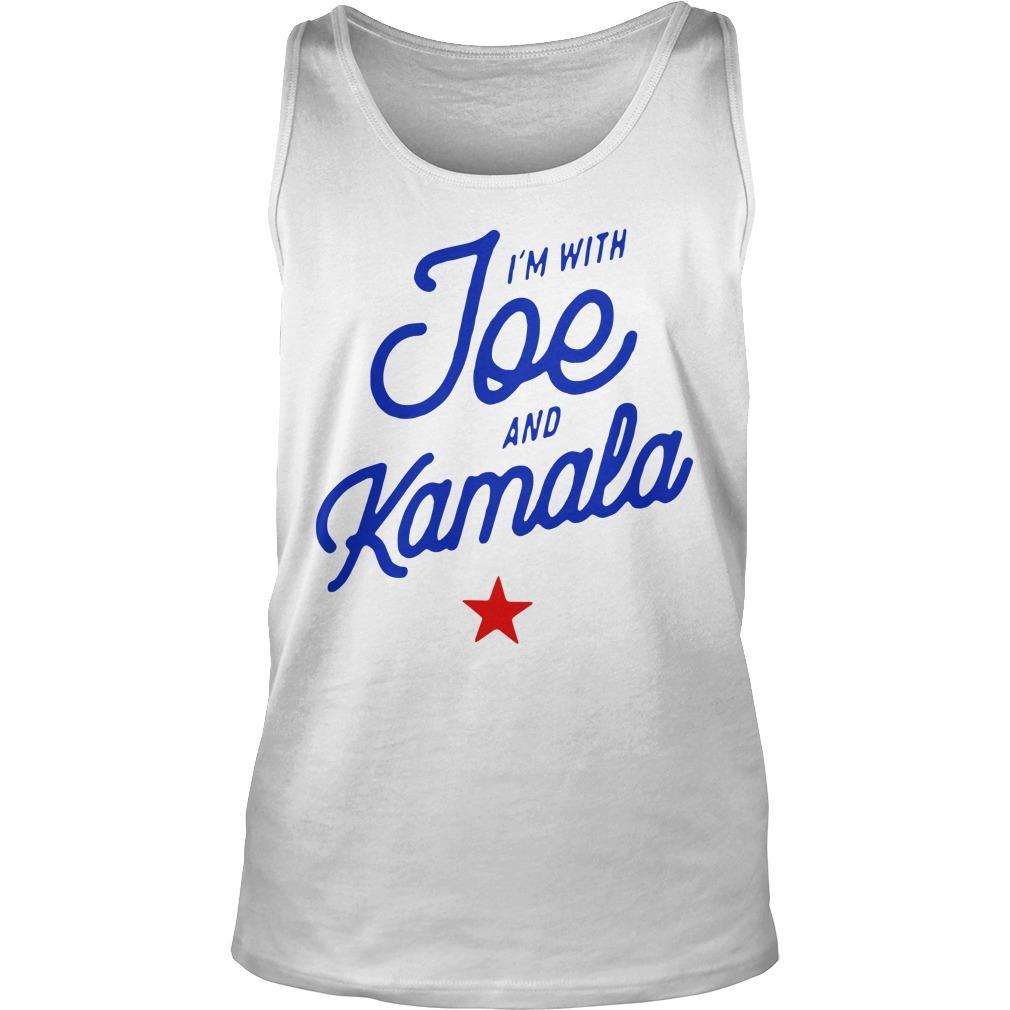 I'm With Joe And Kamala Tank Top