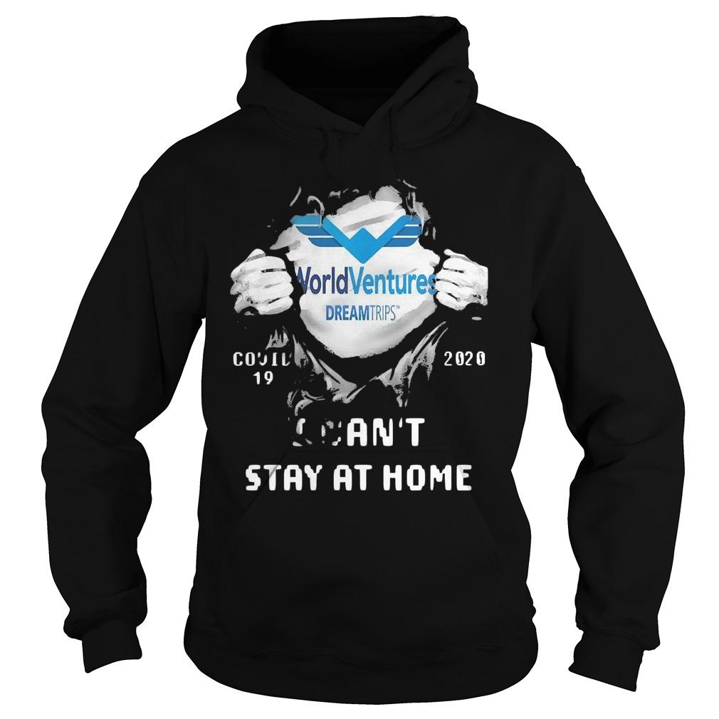 Inside Me World Ventures Covid 19 2020 I Can't Stay At Home Hoodie