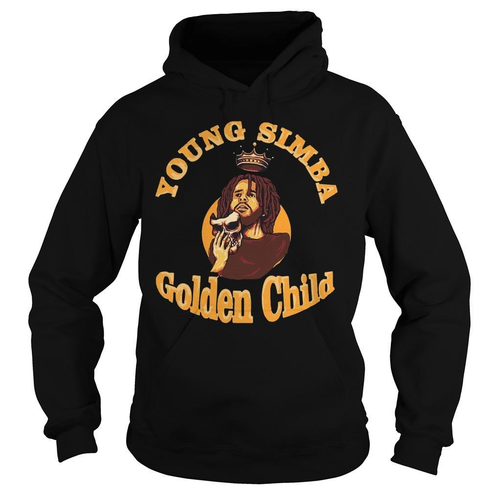 J Cole Young Simba Golden Child Hoodie