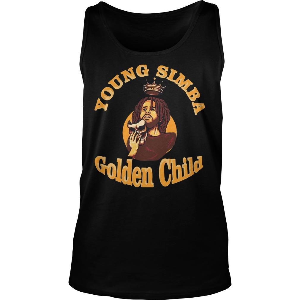 J Cole Young Simba Golden Child Tank Top
