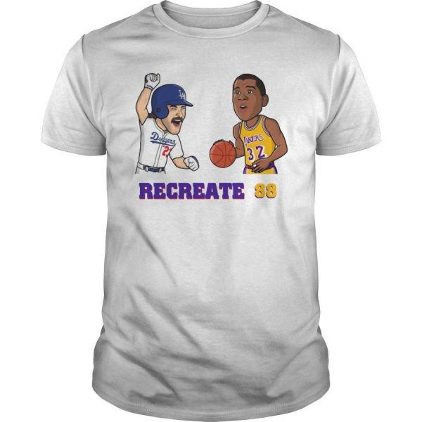 James Lebron Recreate 88 Shirt