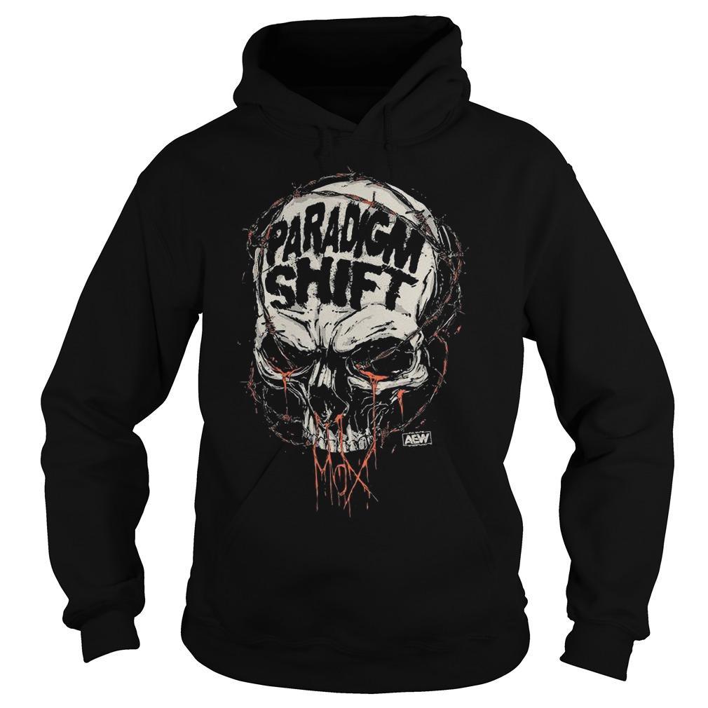 Jon Moxley Skull Paradigm Shift Hoodie
