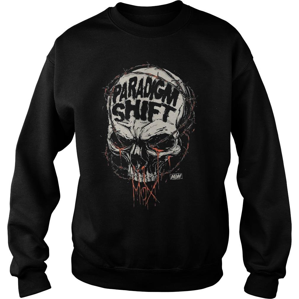 Jon Moxley Skull Paradigm Shift Sweater