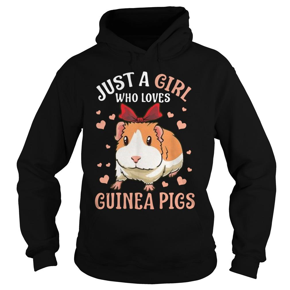 Just A Girl Who Loves Guinea Pigs Hoodie