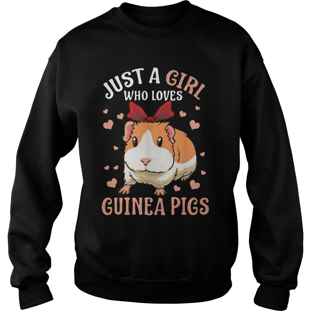 Just A Girl Who Loves Guinea Pigs Sweater