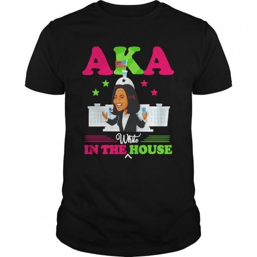 Kamala Harris Aka White In The House Shirt