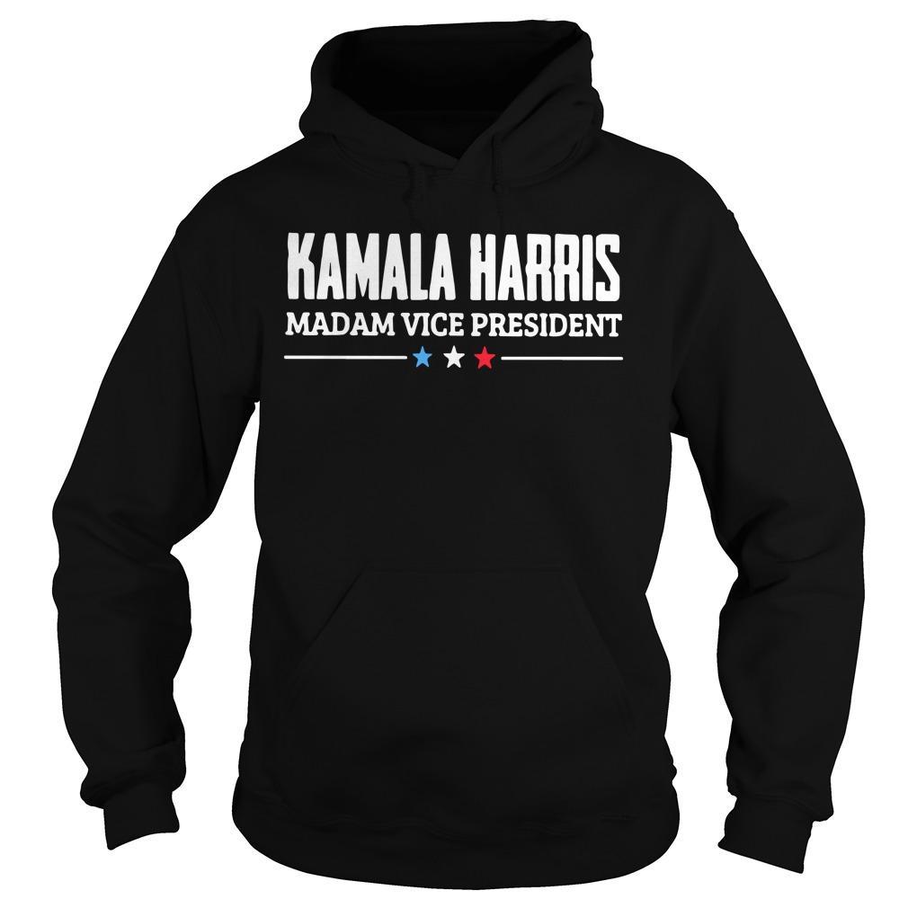 Kamala Harris Madam Vice President Hoodie