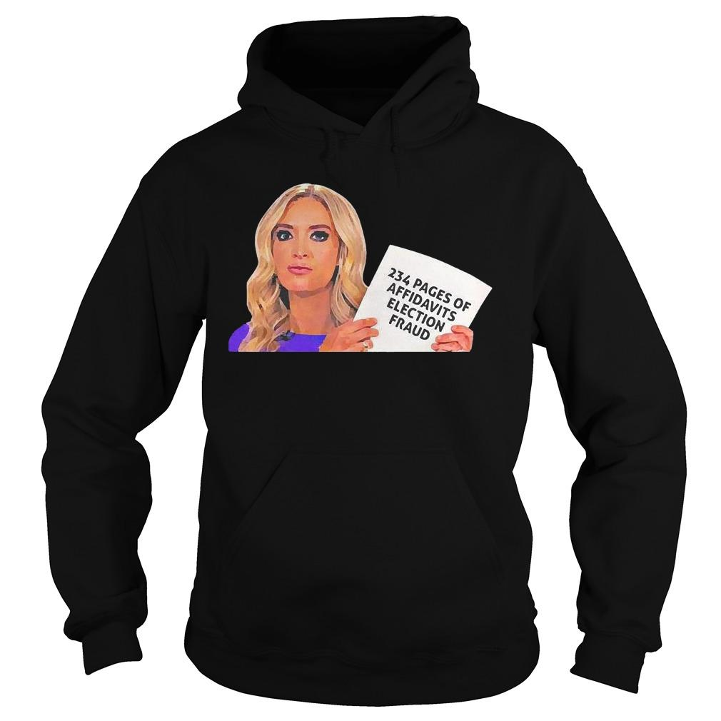 Kayleigh Mcenany 234 Pages Of Affidavits Election Fraud Hoodie