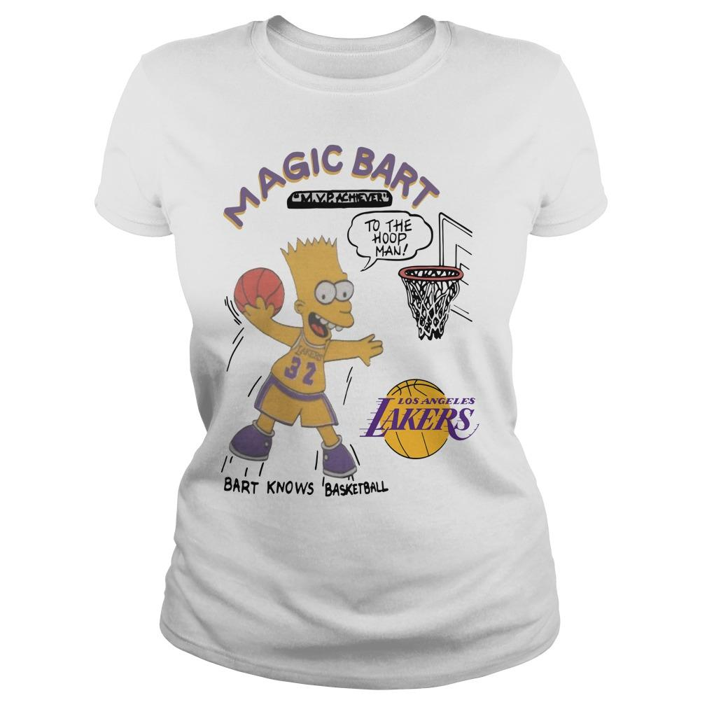 Lakers Magic T Bart Simpson Longsleeve
