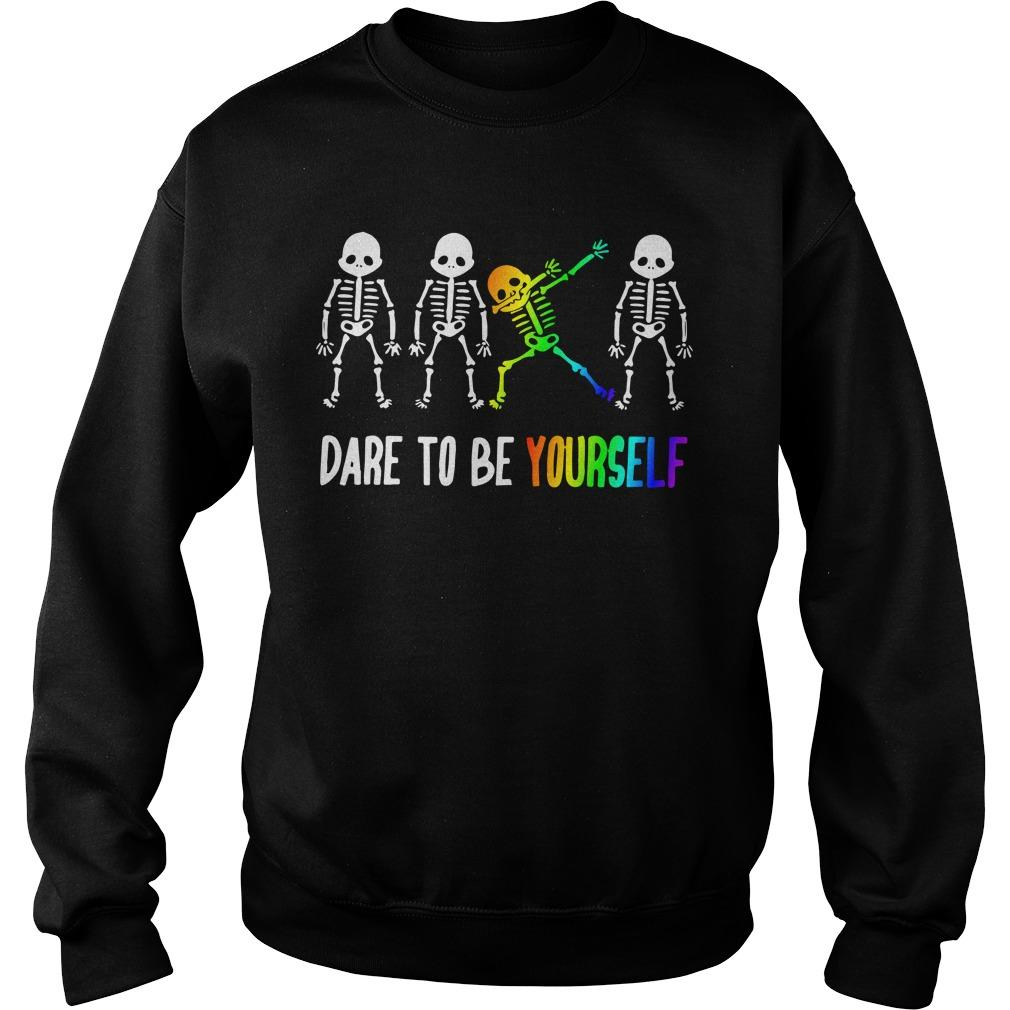 Lgbt Dare To Be Yourself Sweater