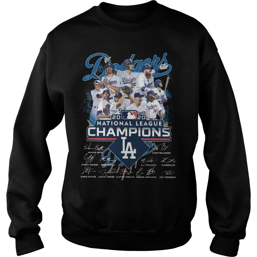 Los Angeles Dodgers 2020 National League Champions Sweater