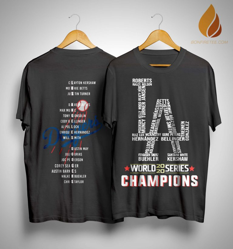 Los Angeles Dodgers World 2020 Series Champions Shirt