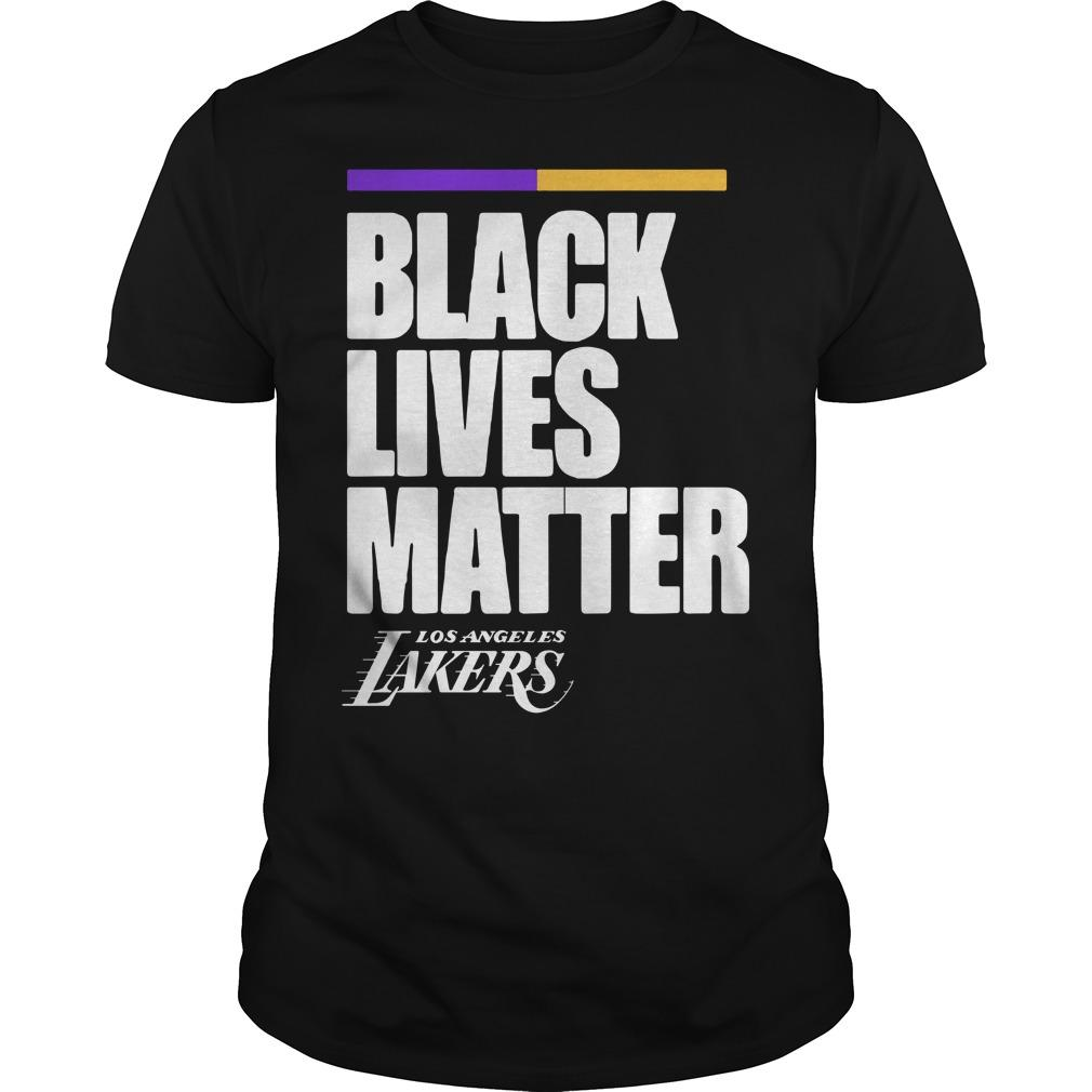 Los Angeles Lakers Black Lives Matter Longsleeve