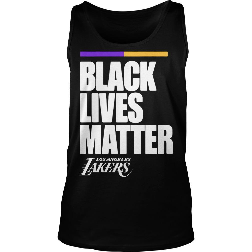 Los Angeles Lakers Black Lives Matter Tank Top