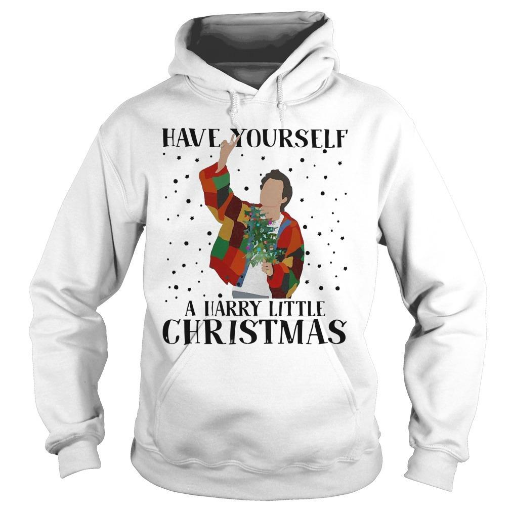 Louis Tomlinson Have Yourself A Harry Little Christmas Hoodie