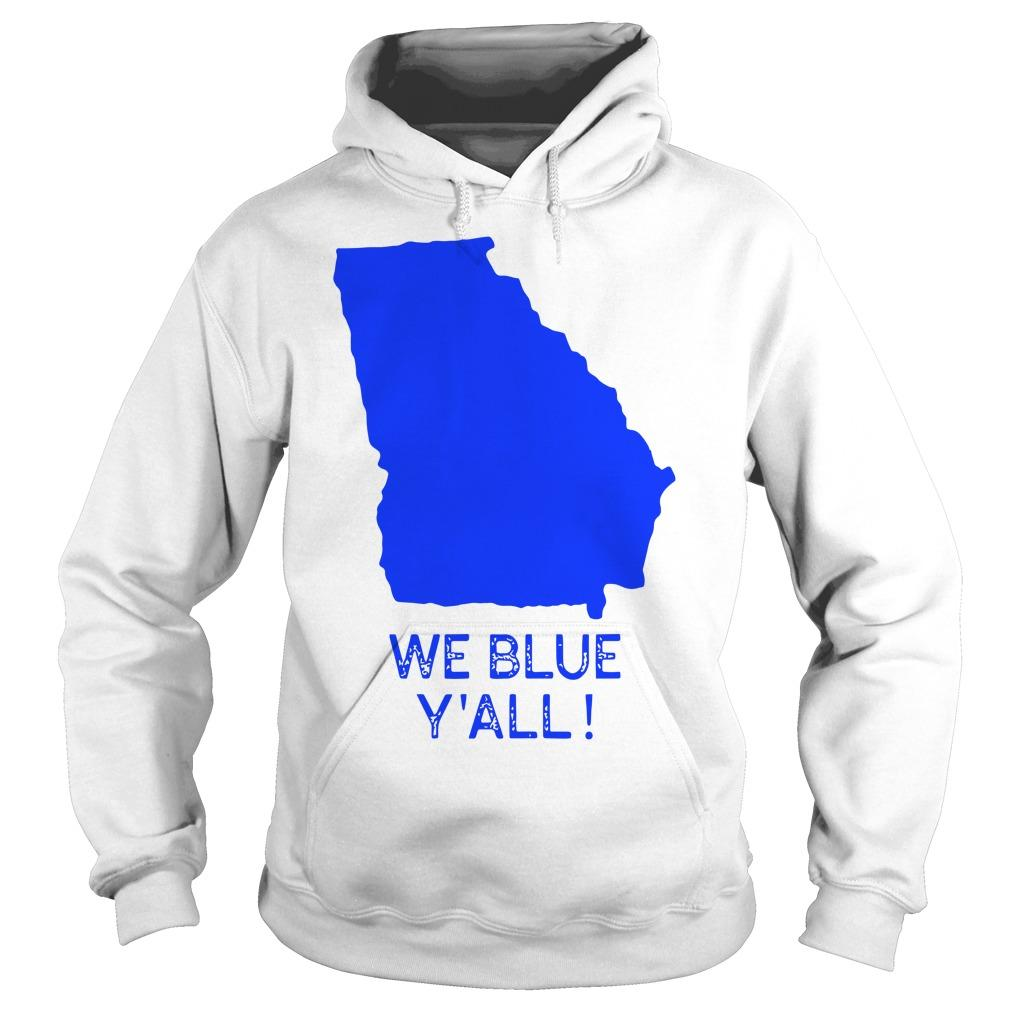 Map We Blue Y'all Hoodie