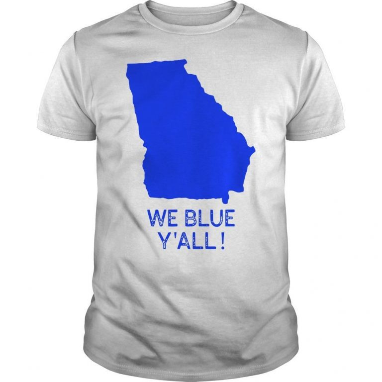 Map We Blue Y'all Shirt