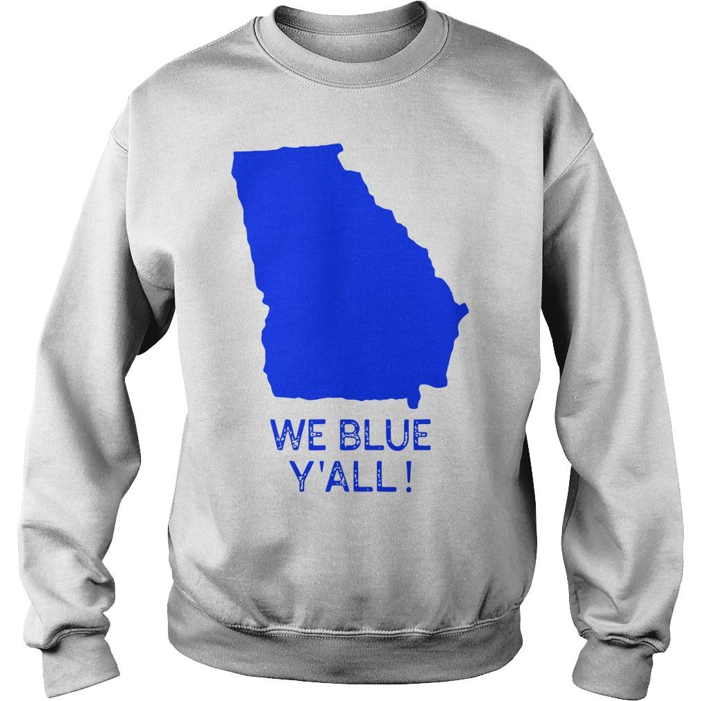 Map We Blue Y'all Sweater