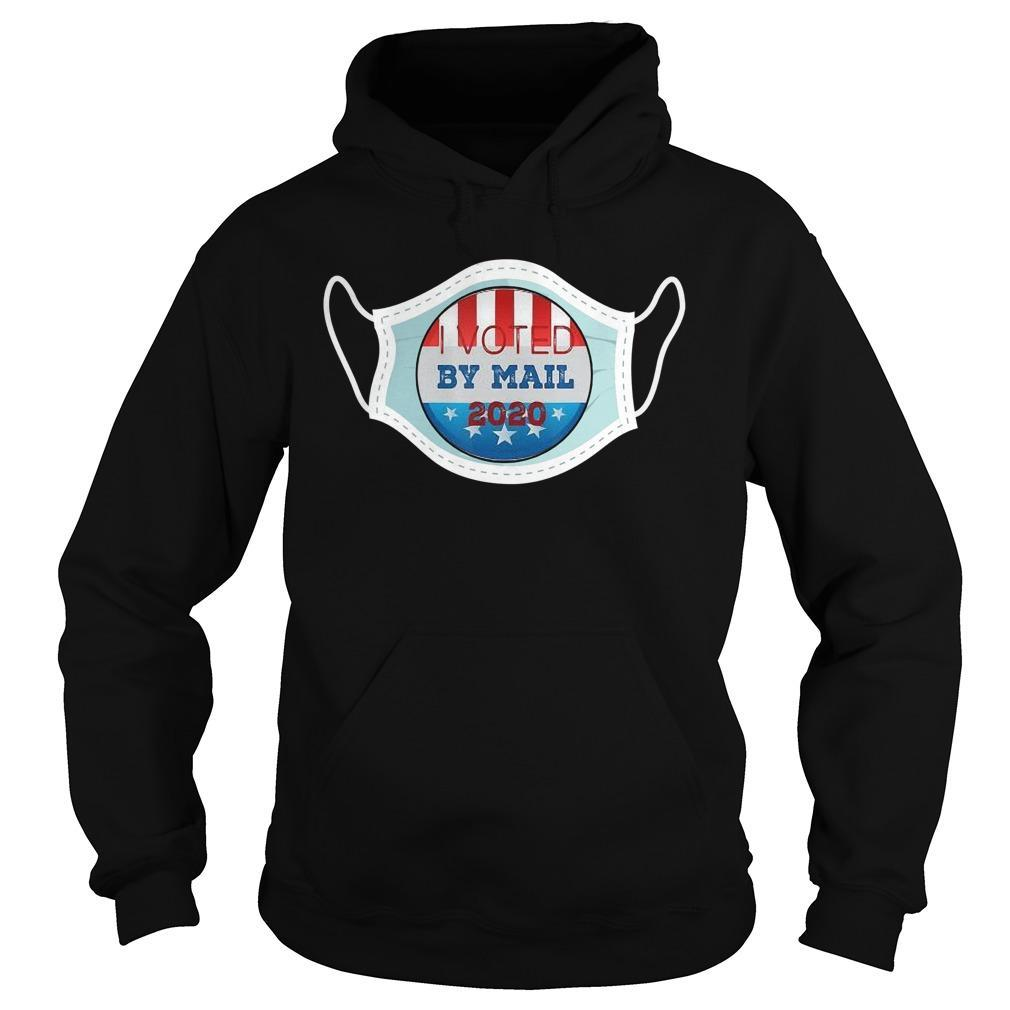 Mask Stars I Voted By Mail 2020 Hoodie