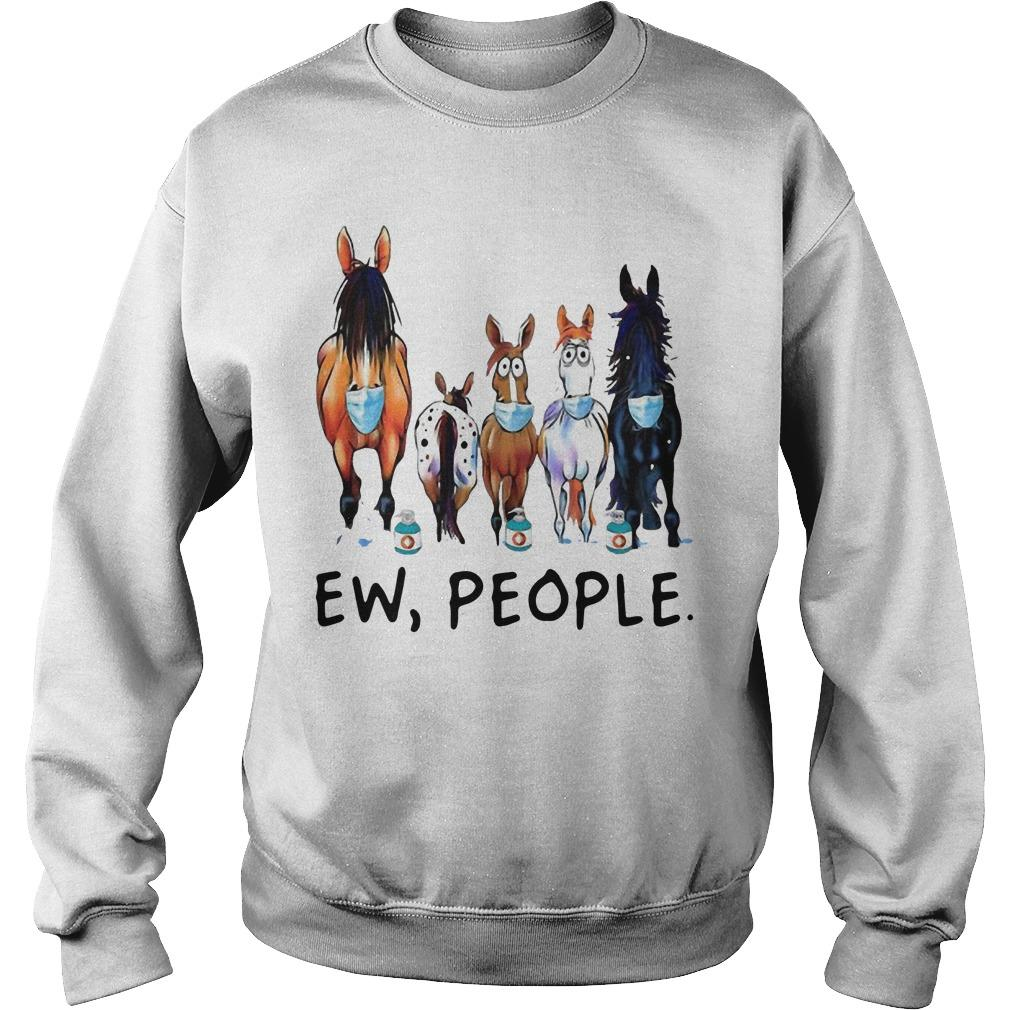 Masking Horse Ew People Sweater
