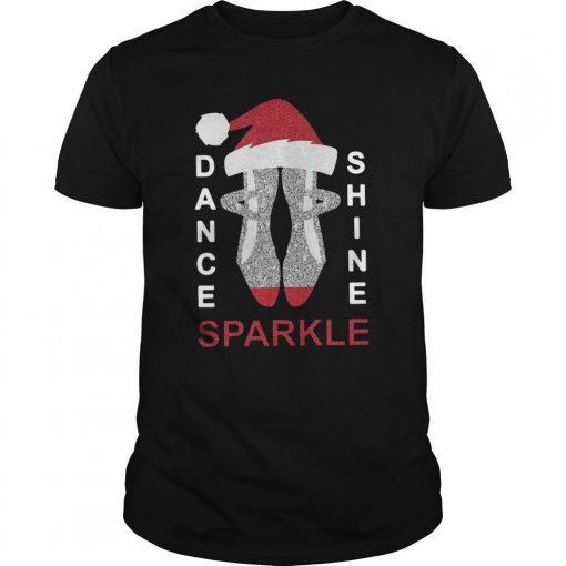 Merry Christmas Dance Shine Sparkle Shirt