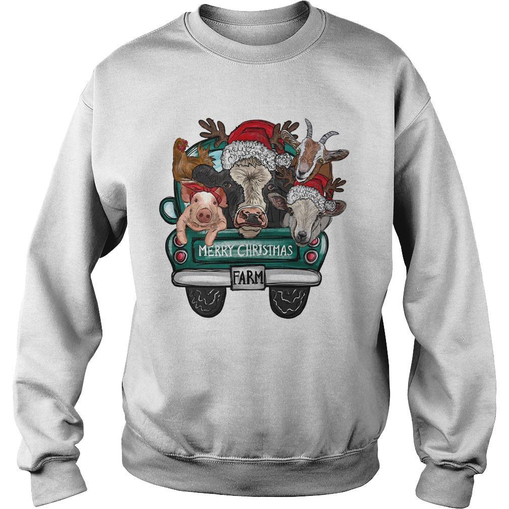 Merry Christmas Farm Sweater