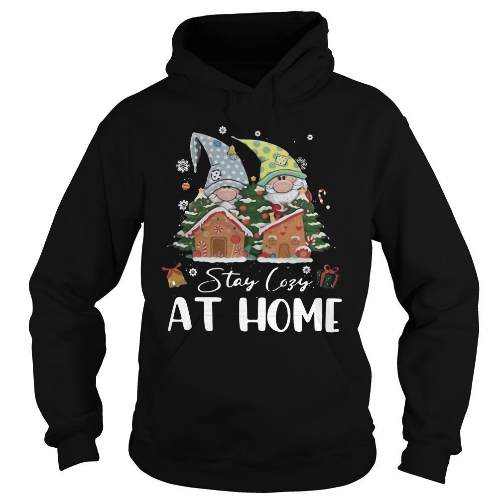 Merry Christmas Gnomies Stay Cosy At Home Hoodie