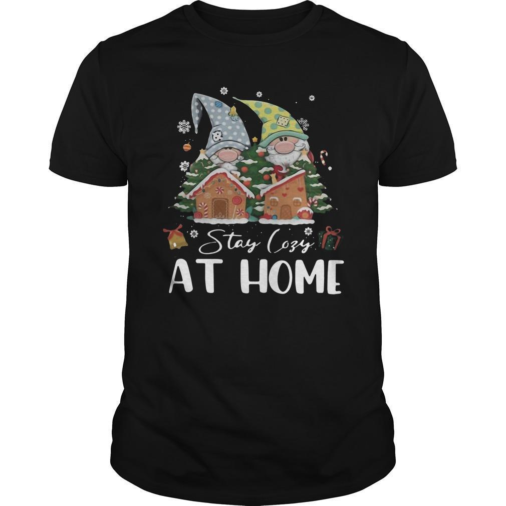 Merry Christmas Gnomies Stay Cosy At Home Longsleeve