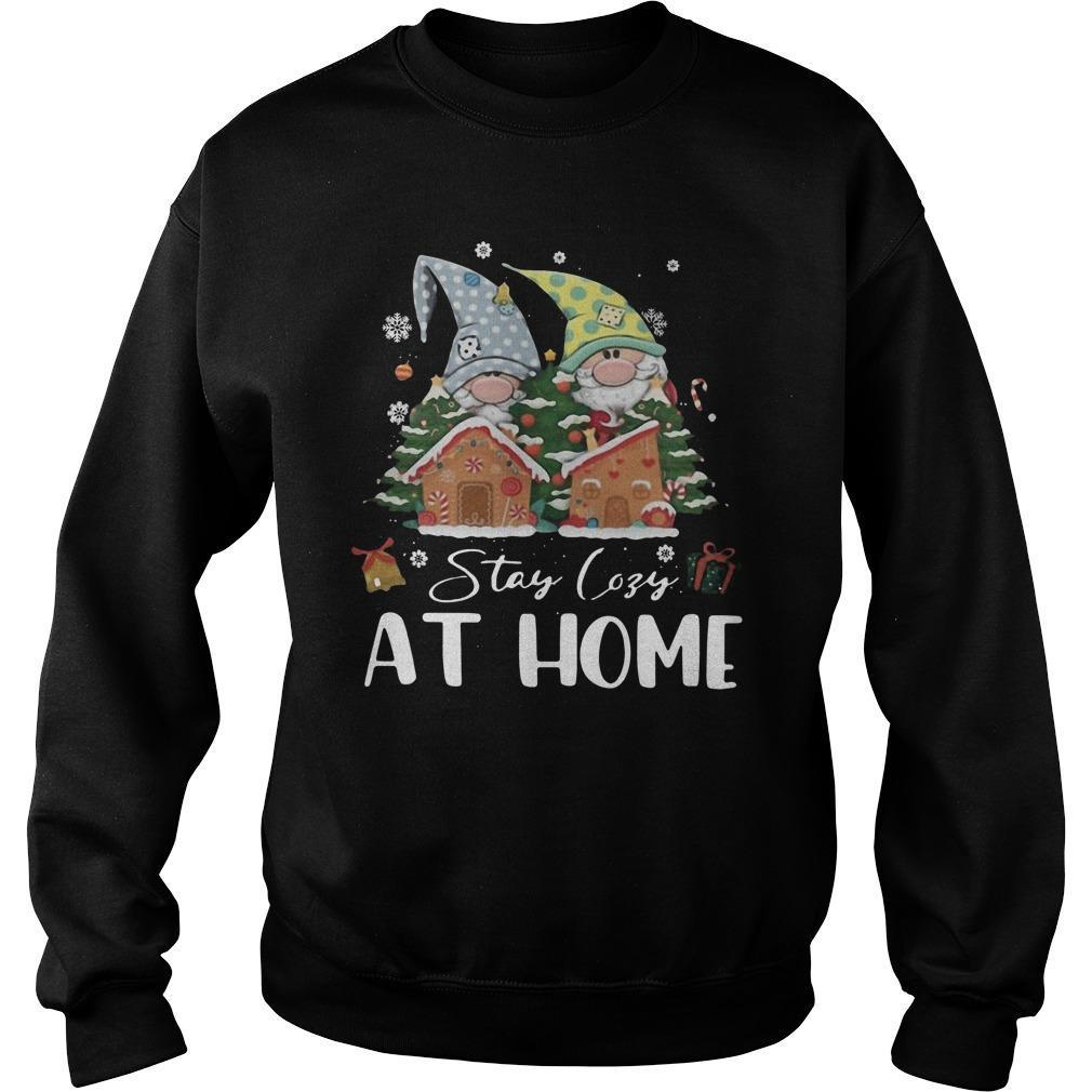 Merry Christmas Gnomies Stay Cosy At Home Sweater