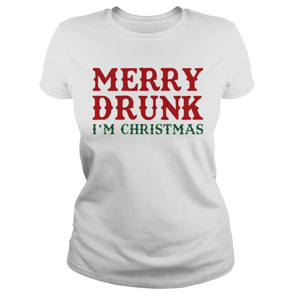 Merry Drunk I'm Christmas Longsleeve